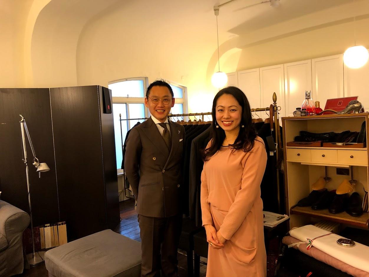 経営者が副業で始めた経営者専門のスーツ仕立屋